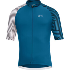 GORE WEAR C5 Optiline Maillot de cyclisme Homme, sphere blue/white